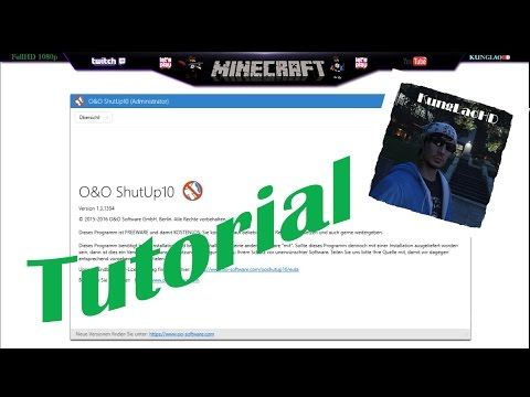 Windows 10 Spionage abschalten | O&O ShutUP 10 Software | GERMAN