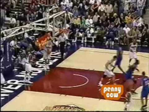 Allen Iverson 38pts vs Nick Van Exel Denver Nuggets 01/02 NBA
