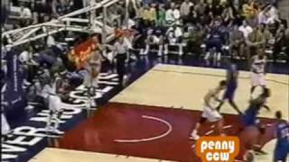 Allen Iverson 38pts vs Nick Van Exel Denver Nuggets 01/02 NBA