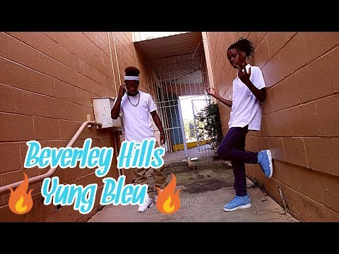 Beverly Hills Yung Bleu (Official Dance Video) @drippy.kidd.tr3 @_international.andre_