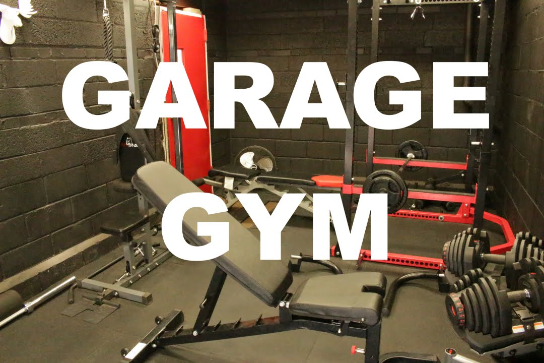 New garage gym before and after home never seen