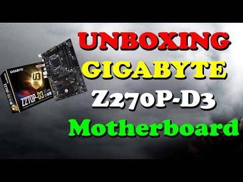 UNBOXING | GIGABYTE Z270P-D3 | Mining Motherboard