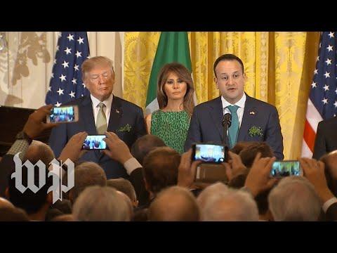 Varadkar: Undocumented Irish immigrants love the U.S. 'dearly'