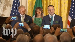 Varadkar: Undocumented Irish immigrants love the U.S. 'dearly'