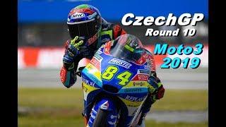 Moto3 CZECH GP 2019 | Championship #10 | TV REPLAY | MotoGP 19 PC GAME