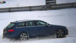 Смотреть видео 17.02.18 г. 2-й заезд. Полный привод, Задний привод-Спорт. онлайн