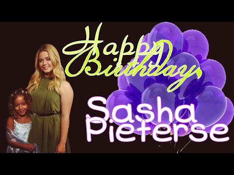 [EP] Happy Birthday, Sasha Pieterse!