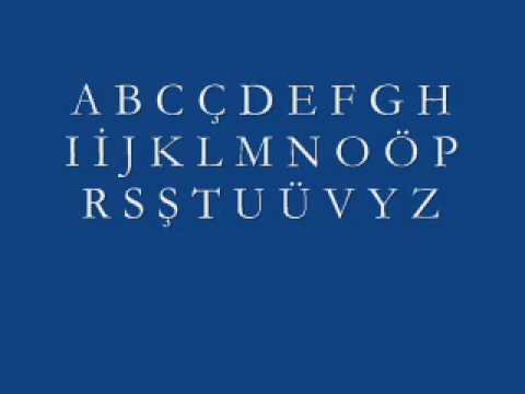 Turkish Lessons1 - Alphabet