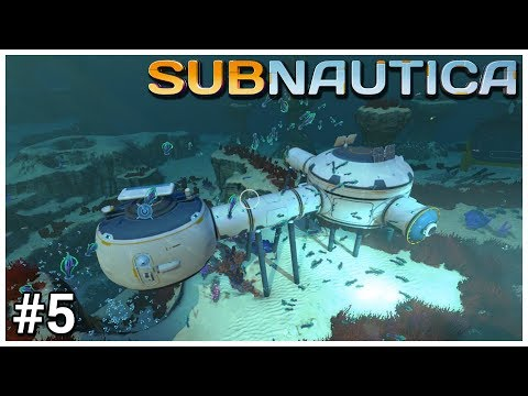 Subnautica - #5 - Seabed Home - Let's Play / Gameplay / Construction