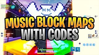 Music Block Maps In Fortnite With Codes (Levels, Faded, Happier, Closer, Crab Rave)