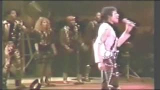 Michael Jackson Rock With You En vivo en una noche fabulosa HD y HQ