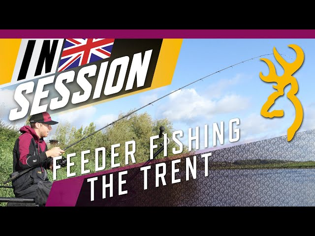 How To Catch Roach & Dace on the Feeder : River Trent Feeder Fishing