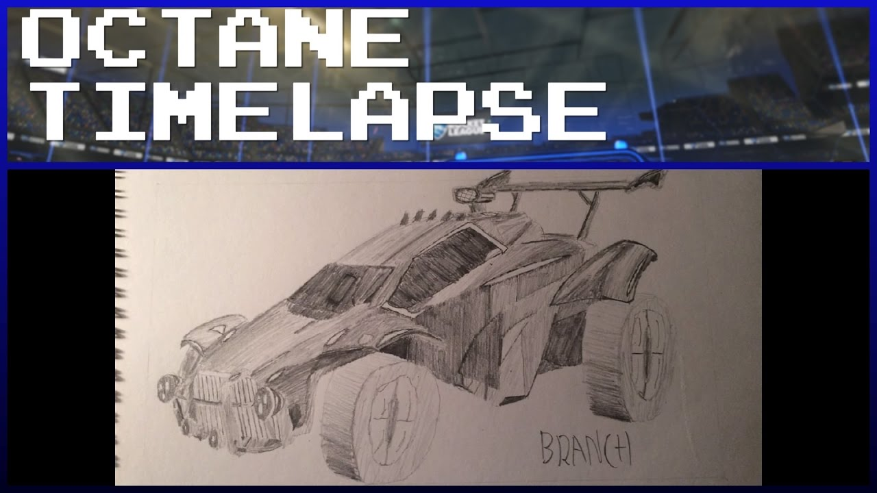 Learn How To Draw How To Draw Rocket League Octane The below color palettes are available to choose from. how to draw rocket league octane