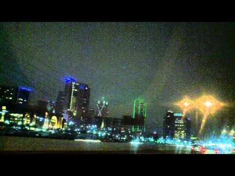 Robert's night drive through Downtown Dallas Texas