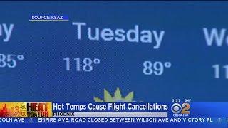 120-Degree Forecast Cancels Flights In Phoenix thumbnail