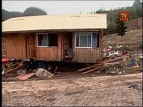 Tsunami en archipiélago de Juan Fernández  Terremoto en Chile.
