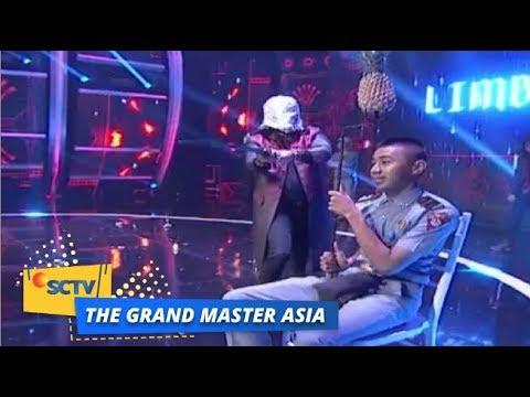 Menegangkan! Aksi Master Limbad di Panggung The Grand Master Asia