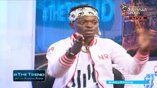 #theTrend: Young meets old, 21 year old Shaq The Youngin and veteran journalist Mambo Mbotela