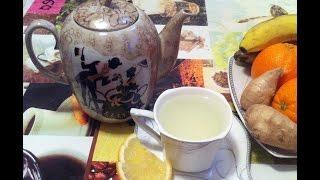 Имбирный Чай с Лимоном / Ginger Tea With Lemon / Простой Рецепт (Очень Полезно)