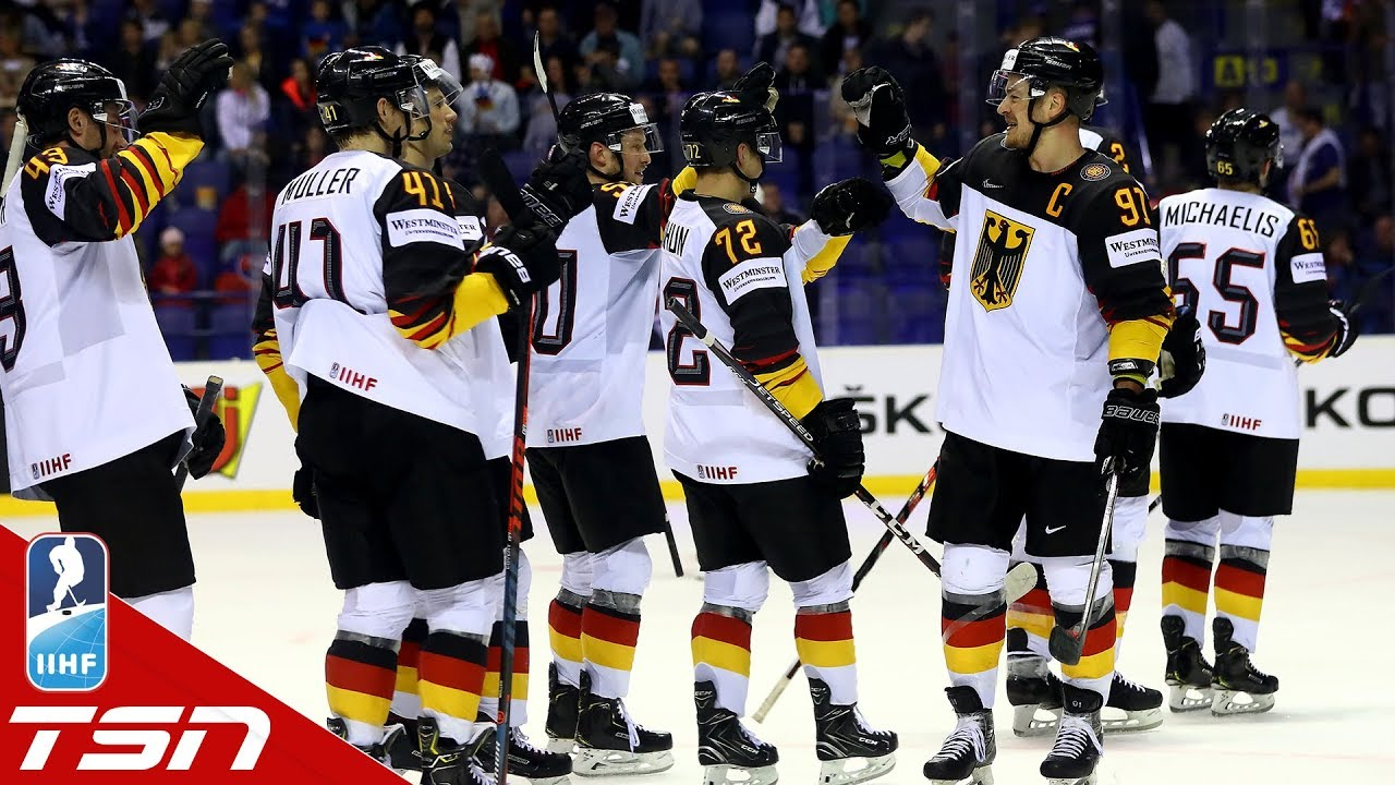 watch 7f2f6 98c99 Leon Draisaitl scores twice, Germany doubles up Finland