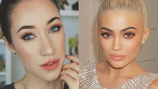 PEACH MAKEUP TUTORIAL | KYLIE JENNER INSPIRED + Morphe 350 Palette  | ALLIE G BEAUTY