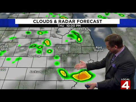 Metro Detroit weather forecast for Aug. 29, 2019 — morning update