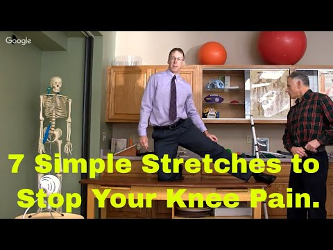 How 7 Simple Stretches Can Stop Your Knee Pain Real Life Examples