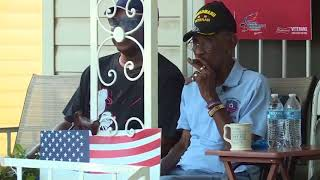 Richard Overton diagnosed with pneumonia