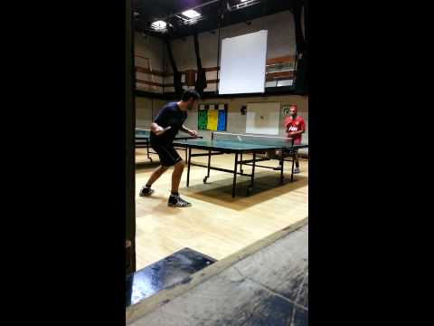 table tennis rally brothers..
