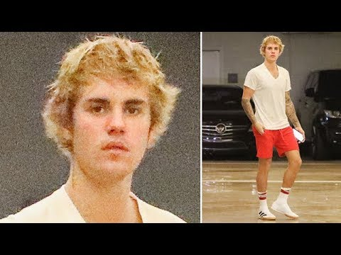 Justin Bieber Looks Hot With Hat Head