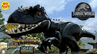 Jurassic World Lego Game  Indoraptor Hybrid Indominus Rex Custom Dino Creator WD Toys Fallen Kingdom