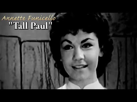 Annette Funicello-Tall Paul (Music Video)
