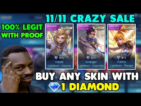 1 Diamond 1 Epic Skin Any Skin How To Use Promo Diam