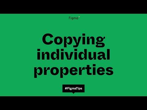 Copying individual properties