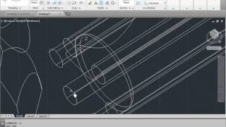 Autocad How To Draw Screw Driver