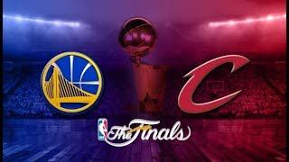 Golden State Warriors vs Cleveland Cavaliers NBA Finals Game 4 - NBA 2K17