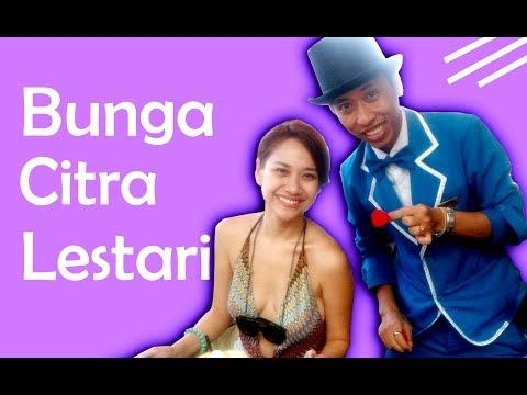 BUNGA CITRA LESTARI ikutan SULAP!! - Magician Bali