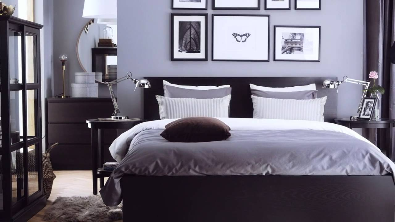 glamorous ikea malm bedroom inspiration   MALM bedroom family - YouTube