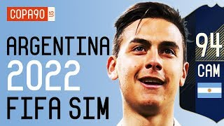Argentina Without Messi at 2022 World Cup - FIFA 18 SIM | Ep. 8