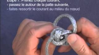 Softie Manille Textile, (How to make a soft shackle in French)