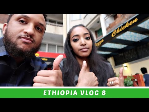 Ethiopia Vlog 8 Driving Through the Streets of Addis Ababa (APRIL 2018) | Amena Teferi
