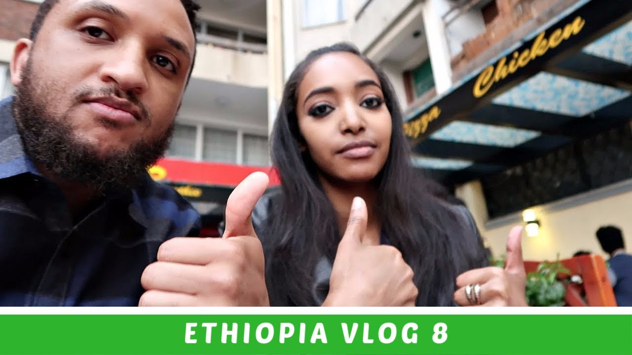 Ethiopia Travel Vlog 8 Driving Through the Streets of Addis Ababa (APRIL 2018) | Amena and Elias