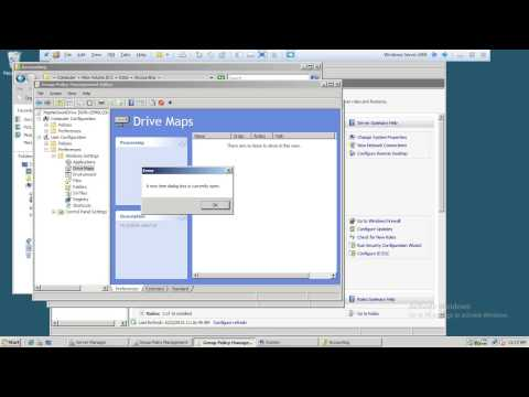 Map Network Drive for client with quota limited