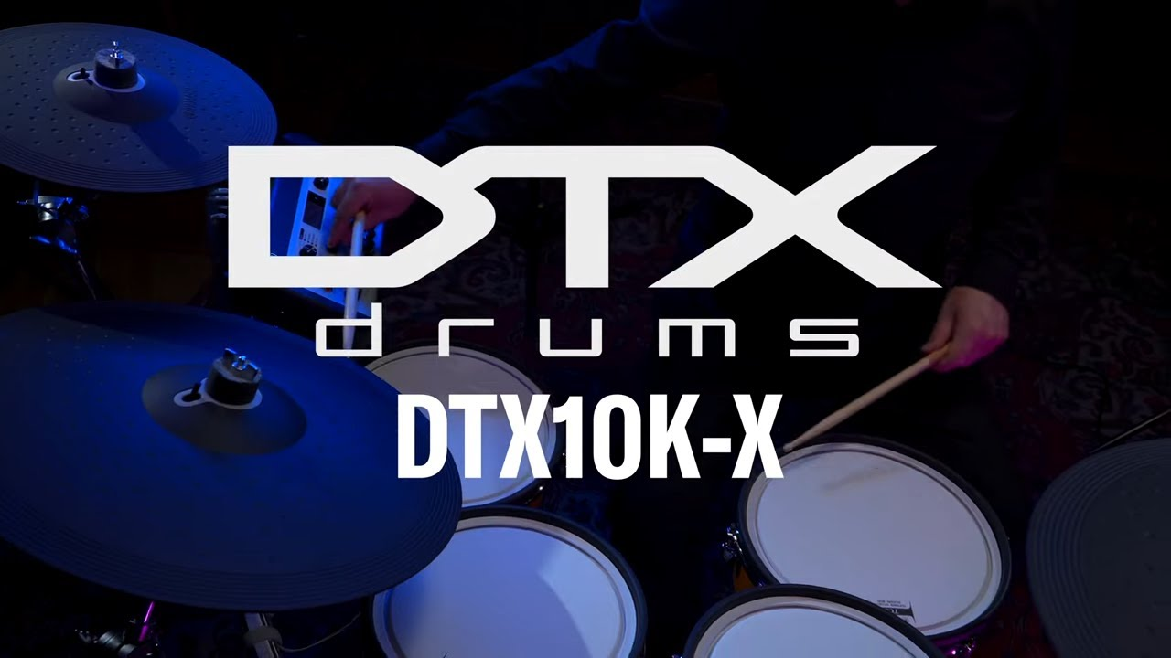 Download Yamaha   DTX10K-X   Overview