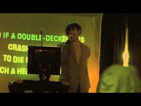 "Doctor Who sings Morrissey!  ""There Is A Light and It Never Goes Out""  Whovian Karaoke # 1"