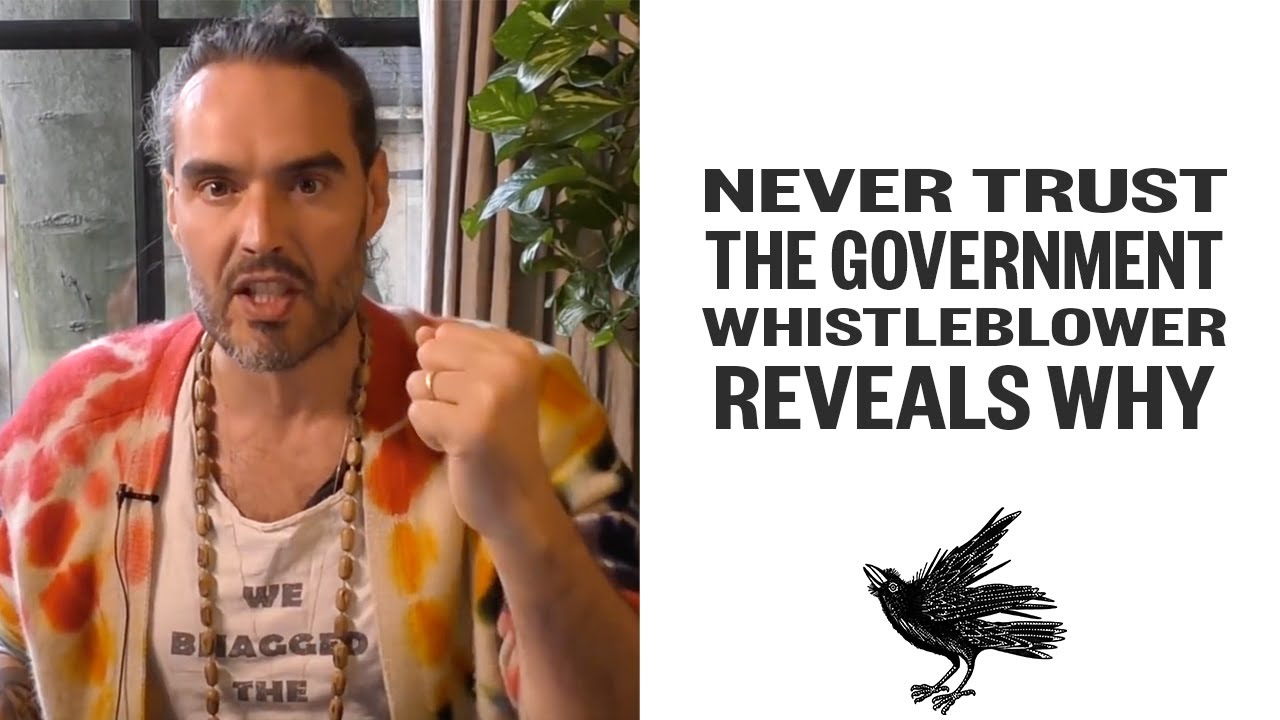 NEVER Trust The Government - Whistleblower Reveals Why