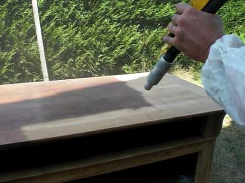 Decapage meuble par aerogommage vid o de 2009 youtube - Decapage meuble par aerogommage ...