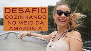 Como caçar Jacaré! De noite na Florista! COZINHANDO PIRANHA| Amazônia | Luiza Hoffmann| NOVO AIRÃO