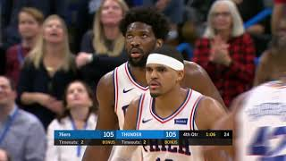 Oklahoma City Thunder vs Philadelphia 76ers | November 15 2019