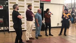 David Sobolov, Toby Sebastian, Liam Mulvey. Adrian Bouchet QnA Panel